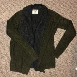Abercrombie oversized cardigan sweater